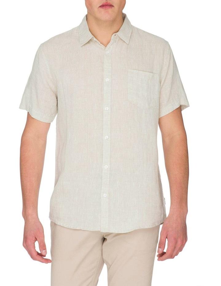 Zane Short Sleeve Linen Shirt image 4