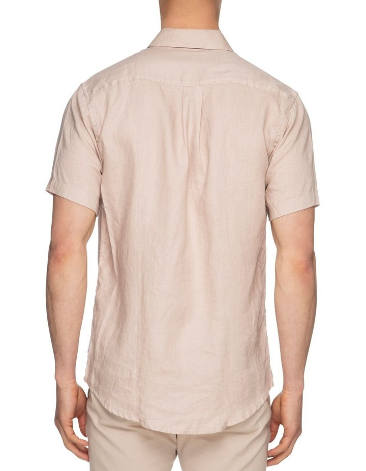 Noosa Short Sleeve Linen Shirt image 3