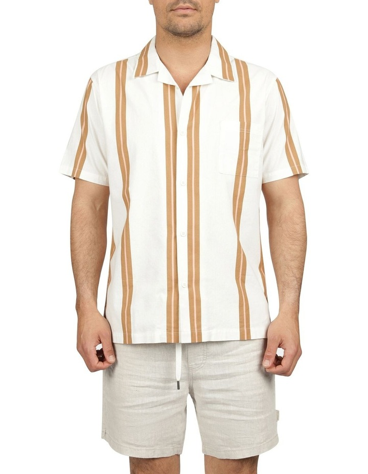 Linear Short Sleeve Stripe Shirt image 1