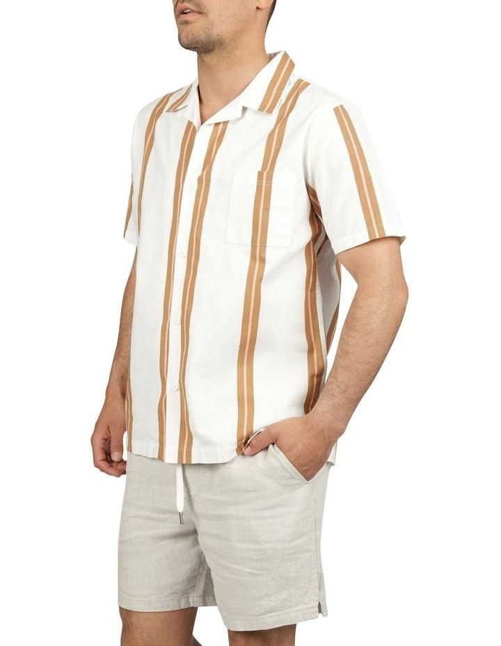Linear Short Sleeve Stripe Shirt image 2