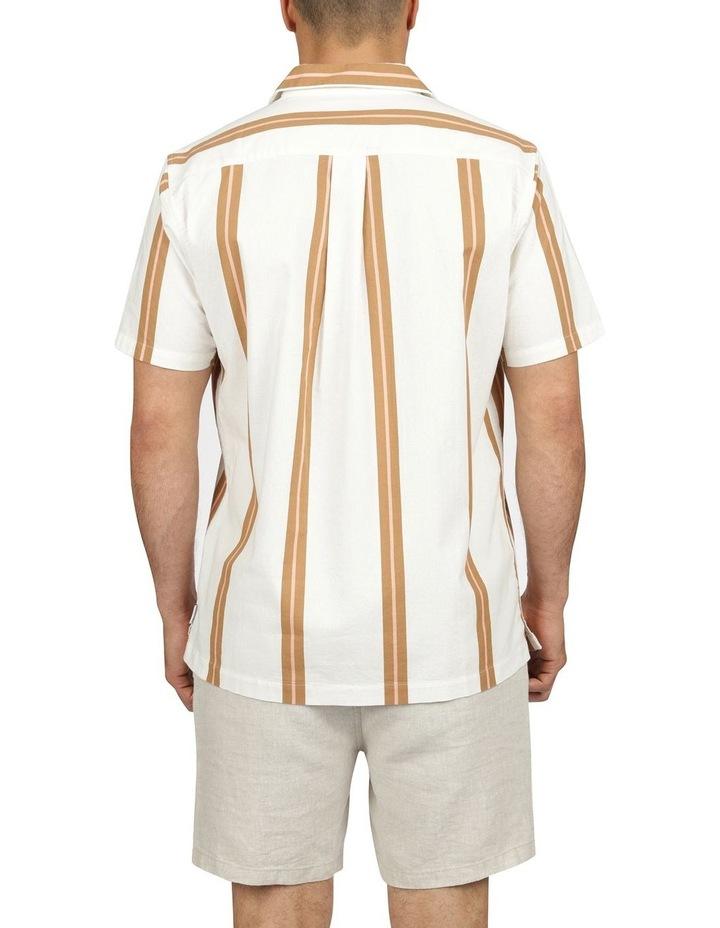 Linear Short Sleeve Stripe Shirt image 3