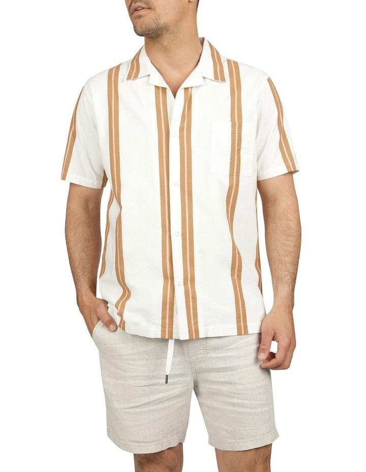 Linear Short Sleeve Stripe Shirt image 4
