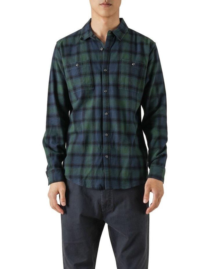 Cyrus Plaid Long Sleeve Shirt image 1
