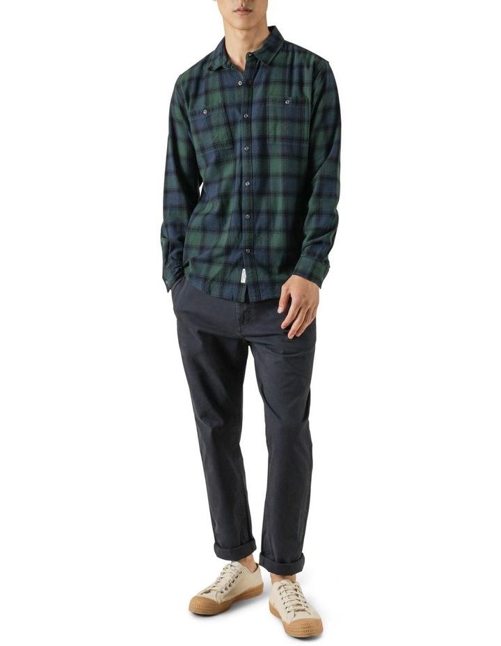 Cyrus Plaid Long Sleeve Shirt image 2
