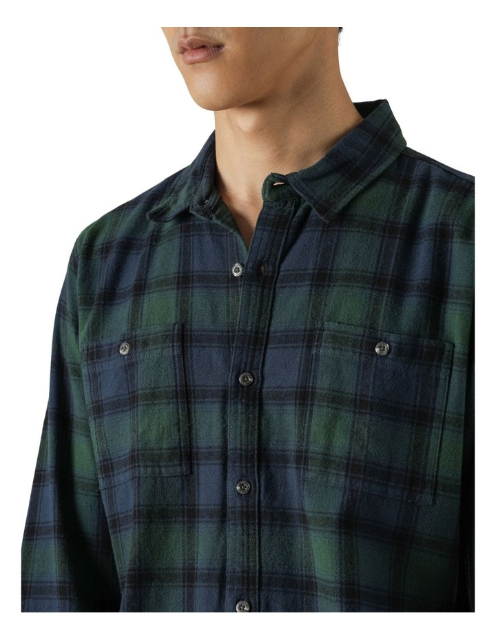 Cyrus Plaid Long Sleeve Shirt image 5