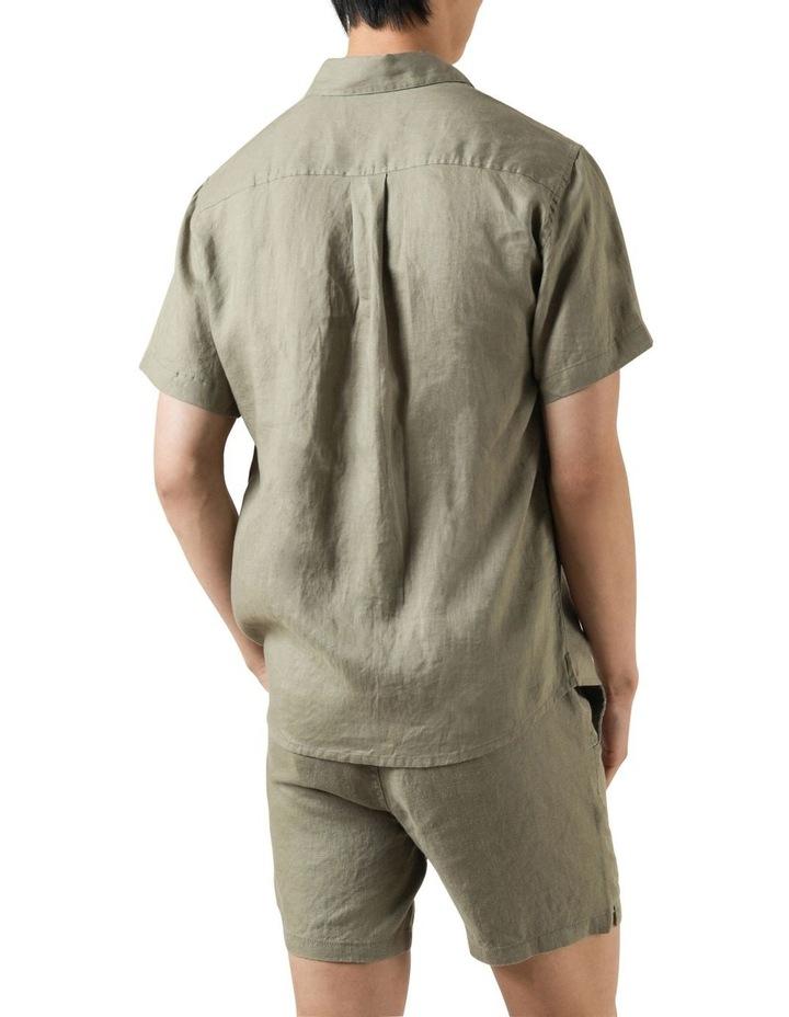 Nero Linen Shirt image 4