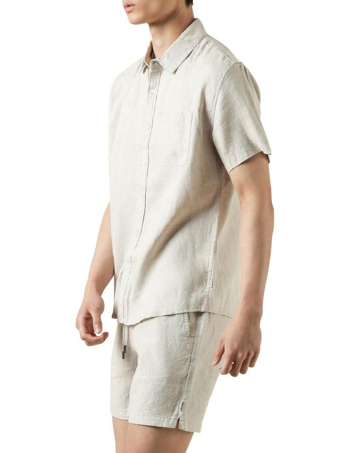 Nero Linen Shirt image 3