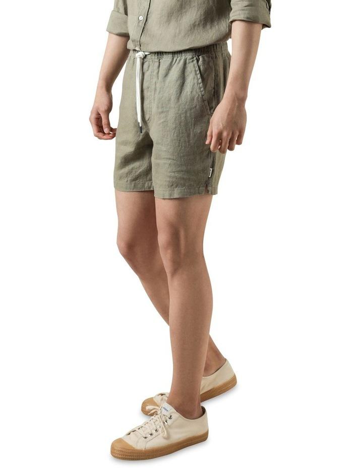 Nero Linen Short Thistle image 3