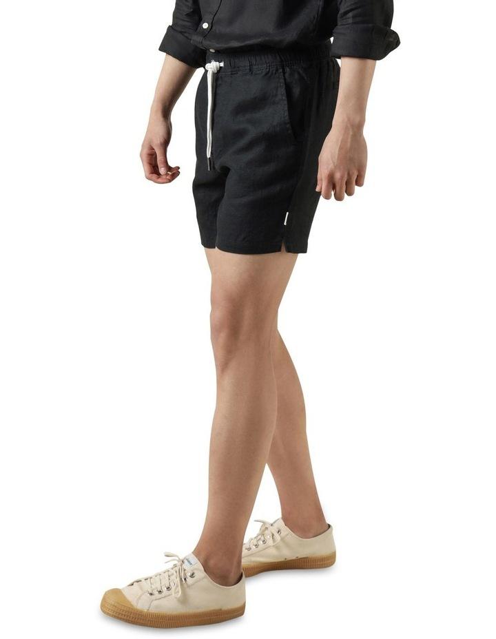 Nero Linen Short Black image 3