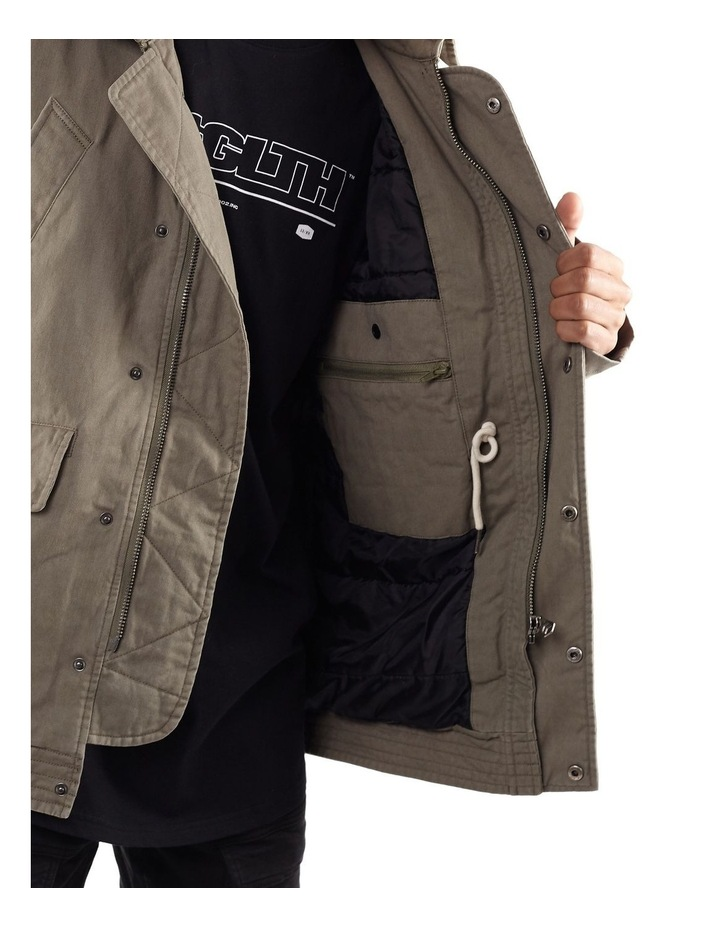 Barrier Jacket Khaki image 6