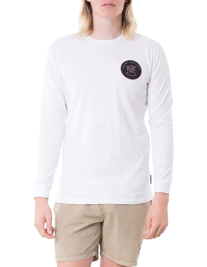 Decade Hooded Long Sleeve T-Shirt image 1