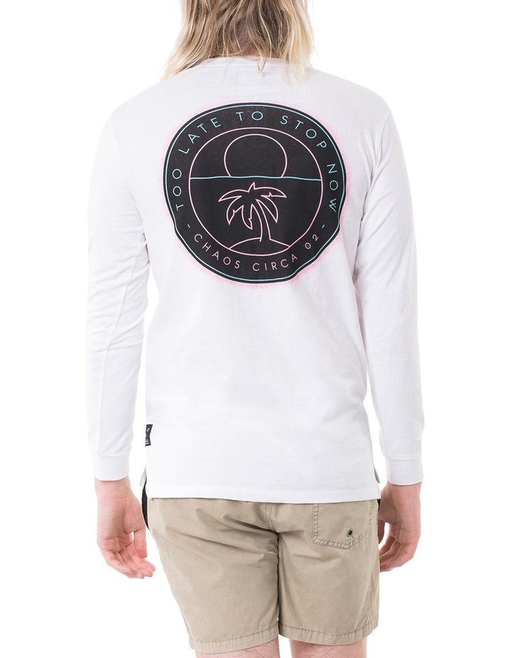 Decade Hooded Long Sleeve T-Shirt image 2