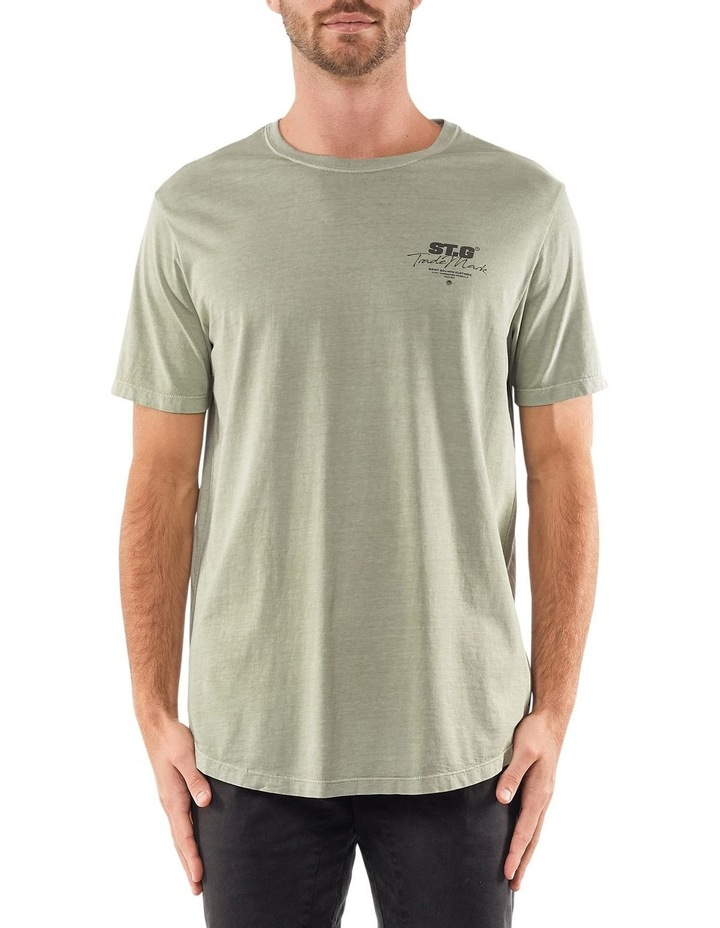 Signed Tee Green image 1