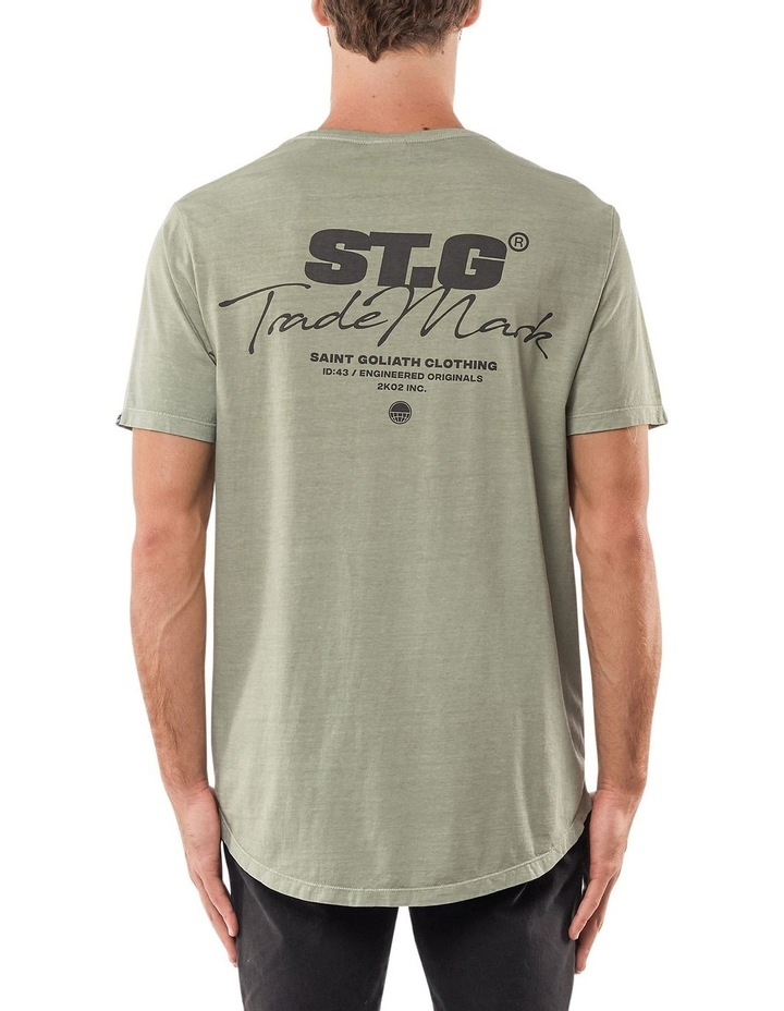 Signed Tee Green image 2