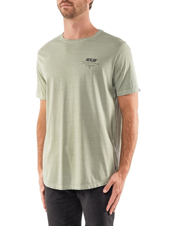 Signed Tee Green image 3