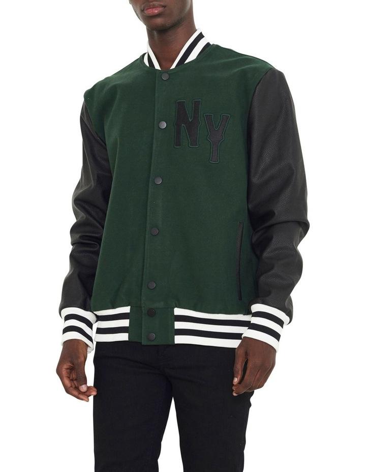 Waverly Varsity Contrast Sleeve Jacket image 1