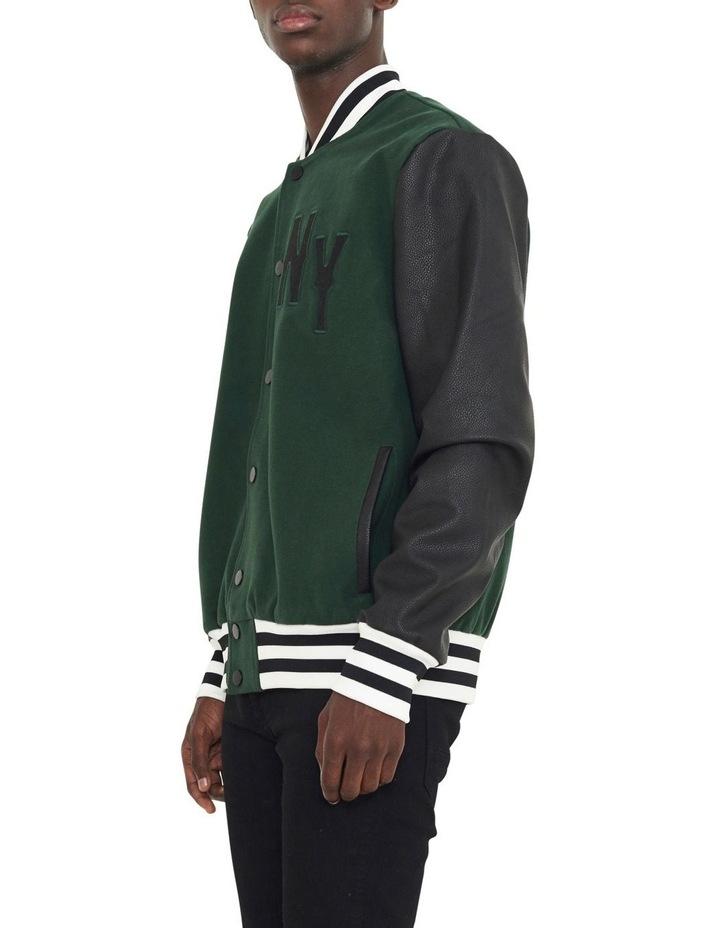 Waverly Varsity Contrast Sleeve Jacket image 2