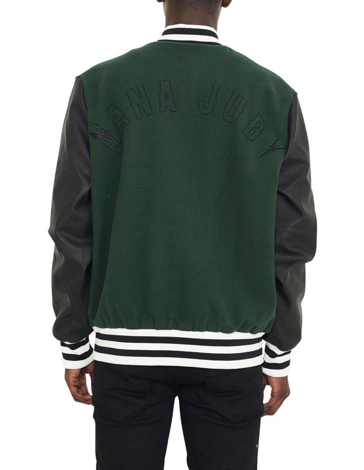 Waverly Varsity Contrast Sleeve Jacket image 3