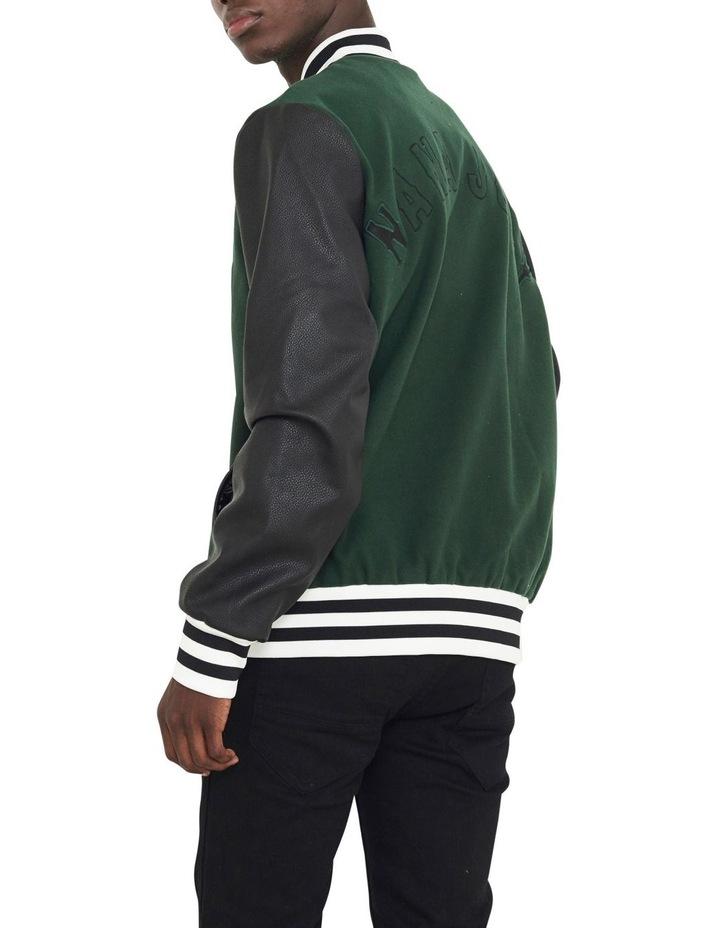 Waverly Varsity Contrast Sleeve Jacket image 4