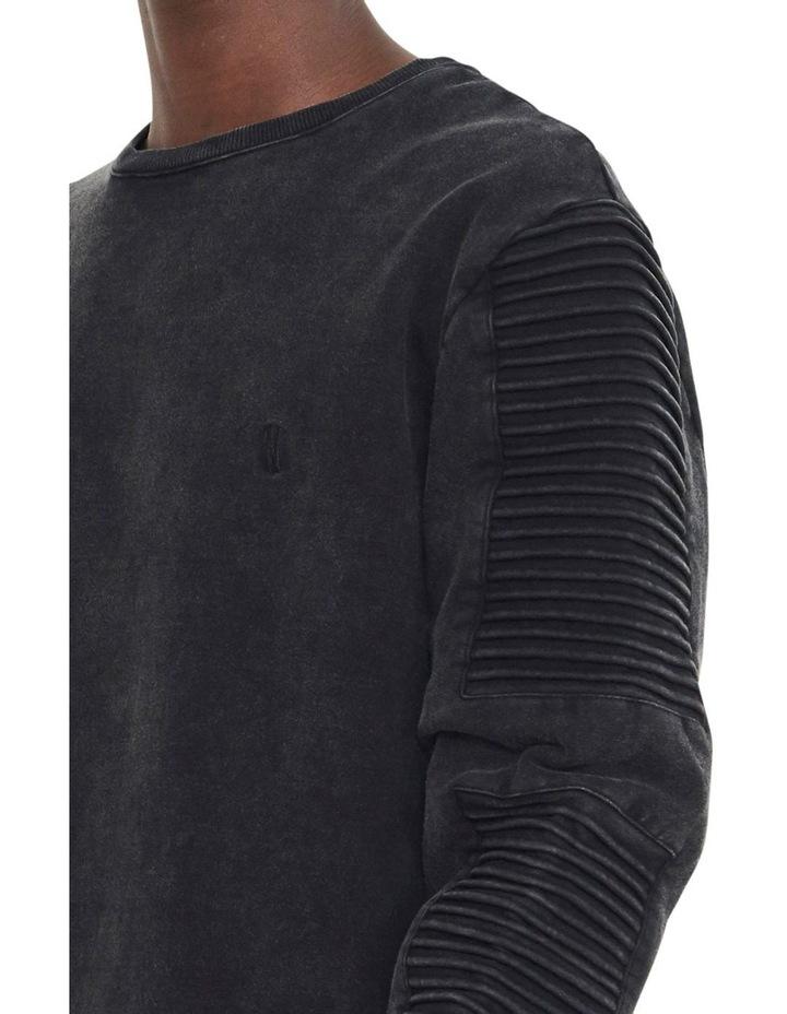 Montana Crew Sweater With Pin Tuck Sleeve Design image 3
