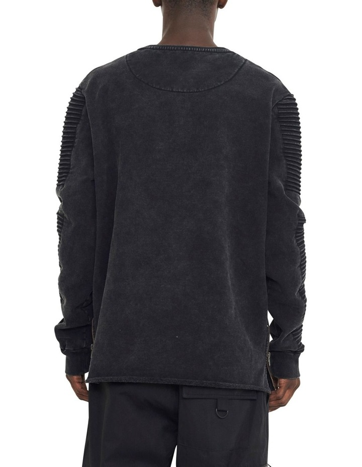 Montana Crew Sweater With Pin Tuck Sleeve Design image 4