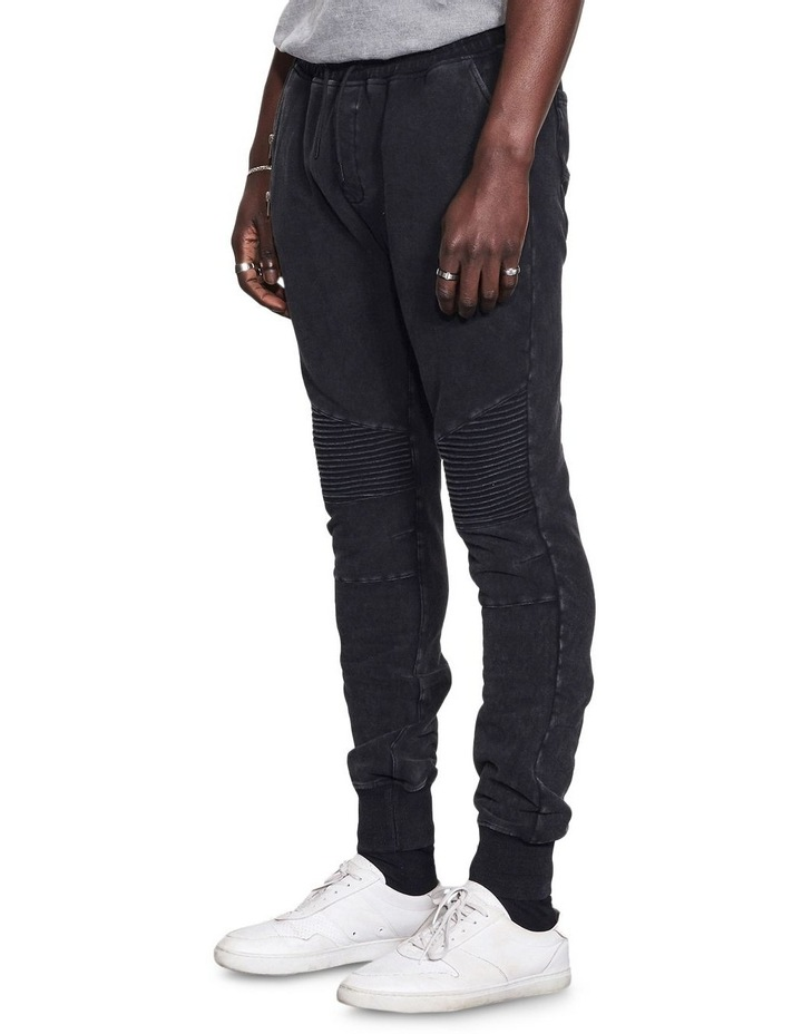 Bleecker Jogger Pant With Moto Knee Design image 3