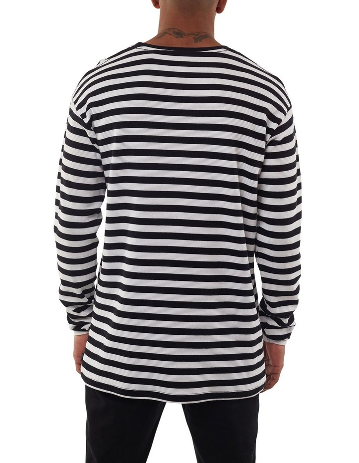 Ciao Stripe Long Sleeve Tee image 3