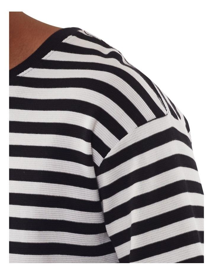 Ciao Stripe Long Sleeve Tee image 4