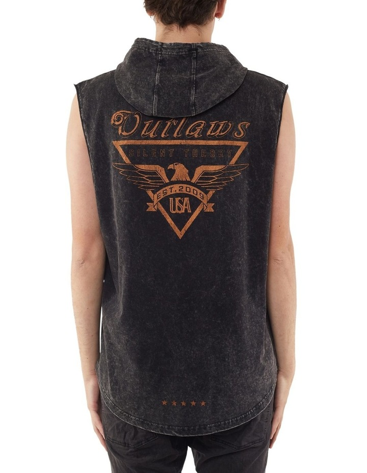 Outlaw Hooded Muscle image 2