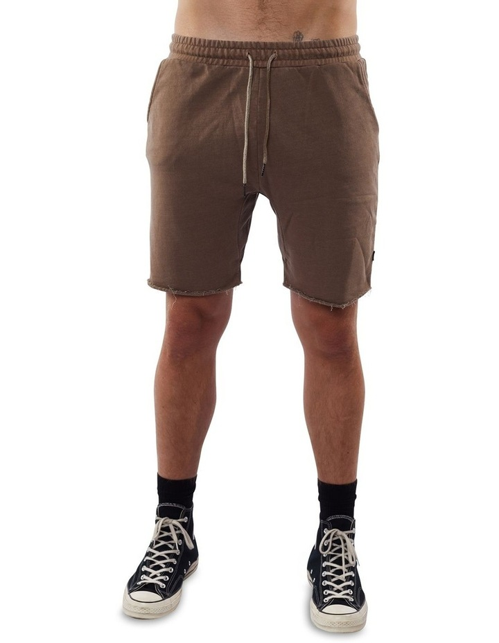 Core Fleece Short Brown image 1