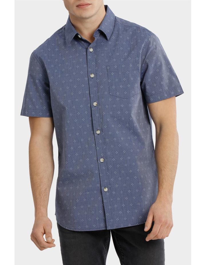 Tararua Micro Print Short Sleeve Shirt image 1