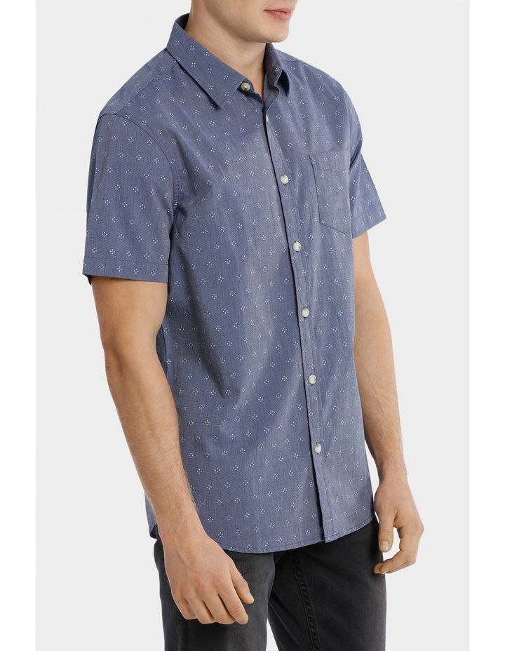 Tararua Micro Print Short Sleeve Shirt image 2