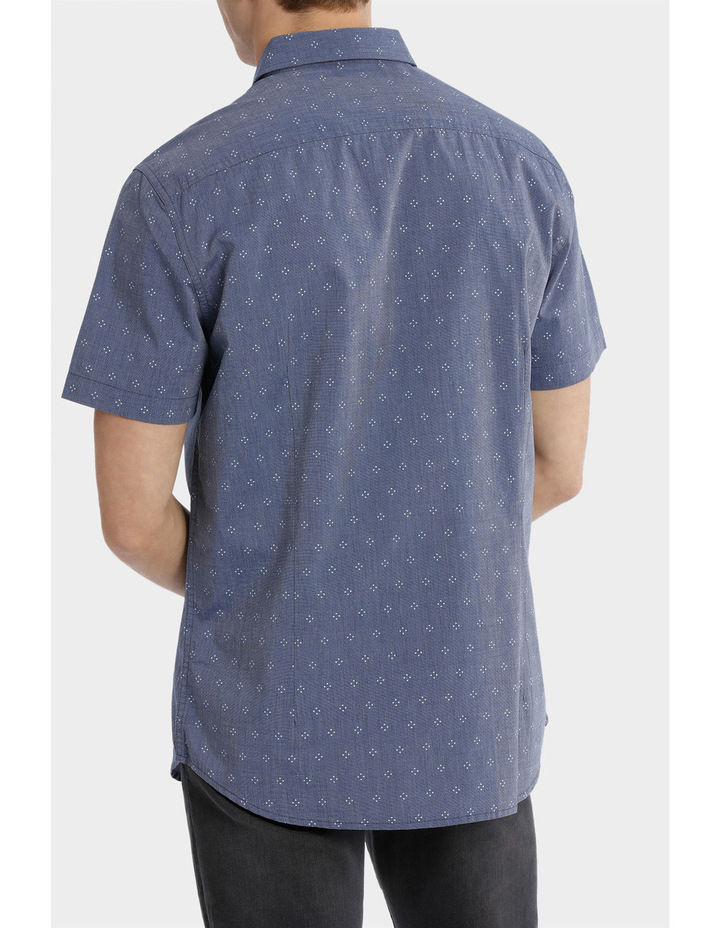 Tararua Micro Print Short Sleeve Shirt image 3