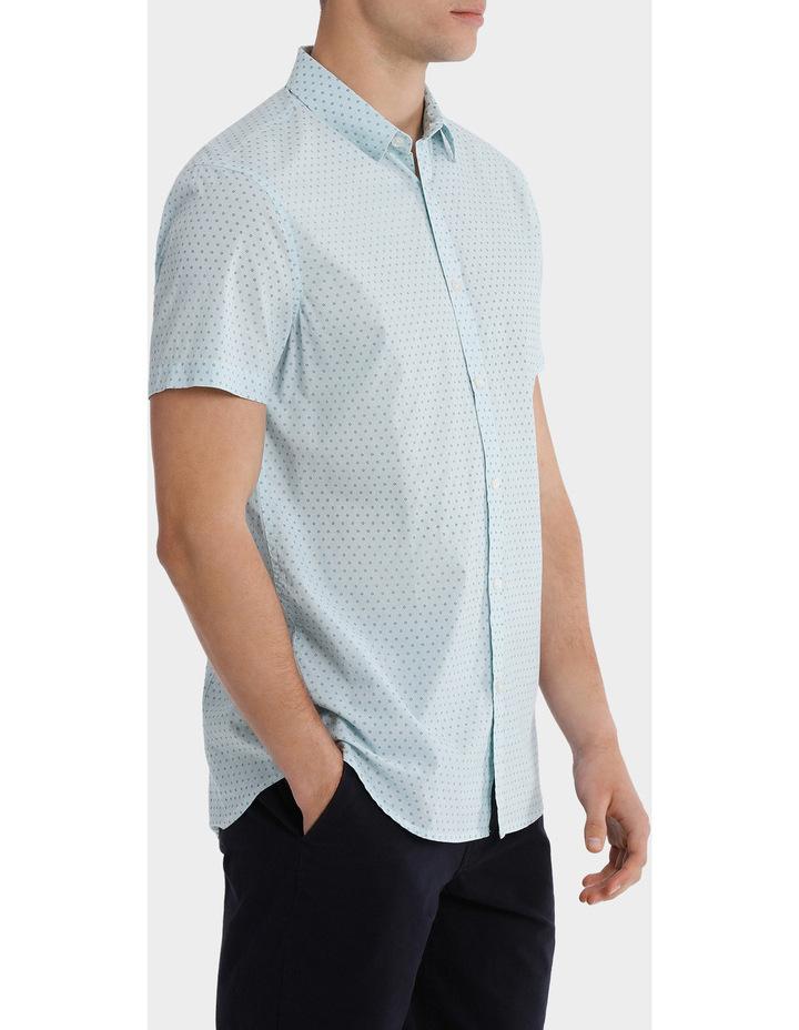 Montanita Short Sleeve Micro Print Voile Shirt image 2