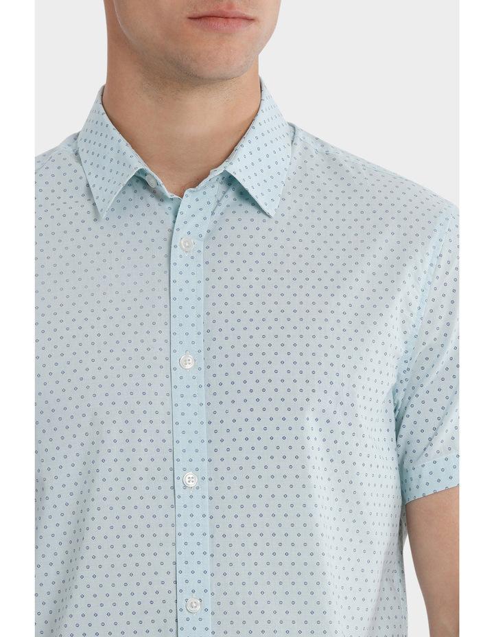 Montanita Short Sleeve Micro Print Voile Shirt image 4