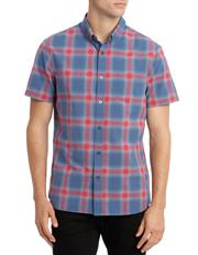 Crimson Skies Short Sleeve Check Shirt