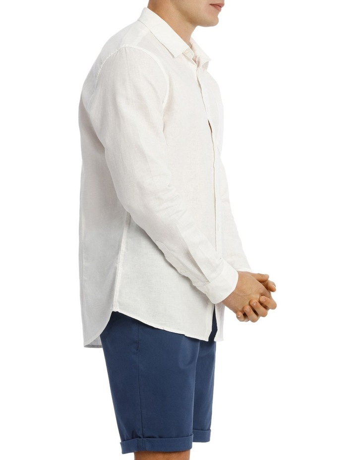 Byron Long Sleeve Linen Shirt image 2