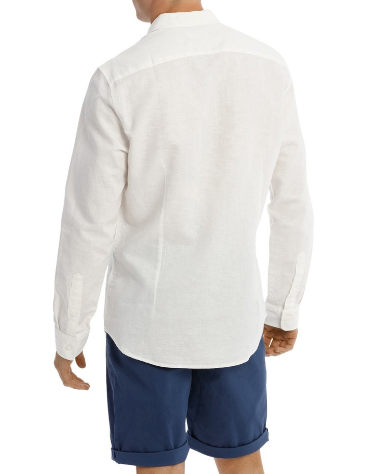 Byron Long Sleeve Linen Shirt image 3