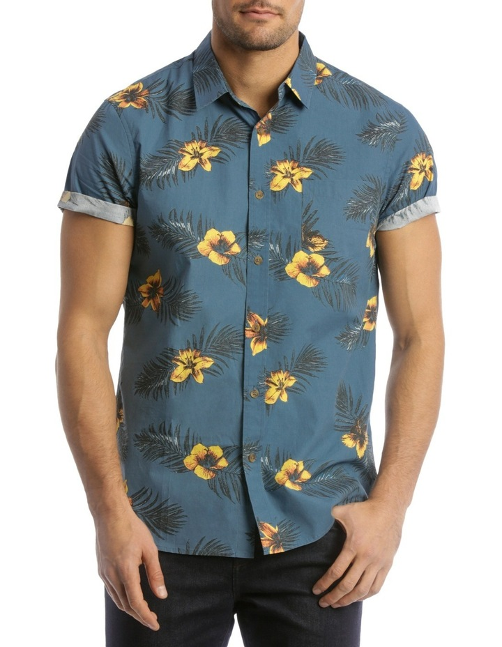 Indigo Resort Print Shirt image 1