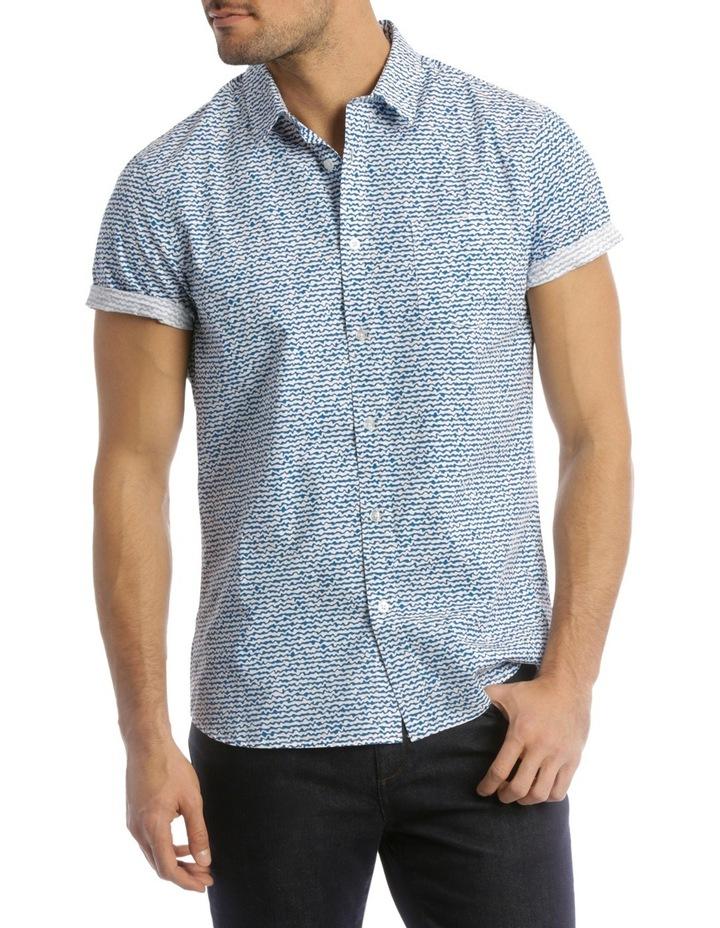 Wave Print Shirt image 1