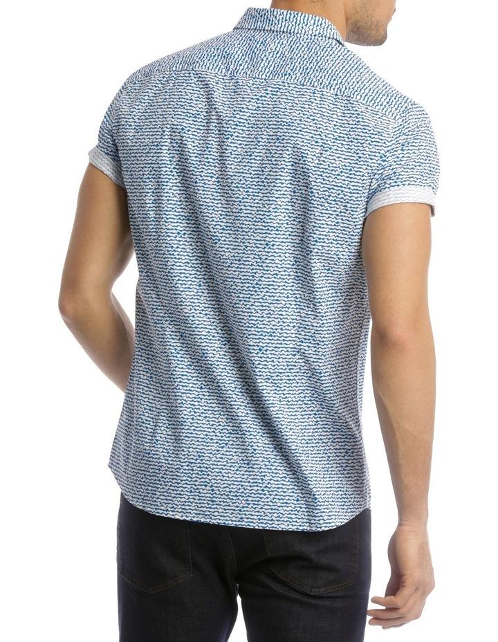 Wave Print Shirt image 3