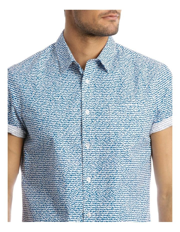 Wave Print Shirt image 4