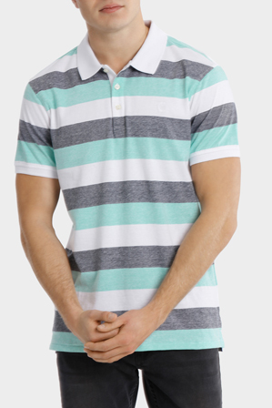 Maddox - Mavericks Core Stripe Polo