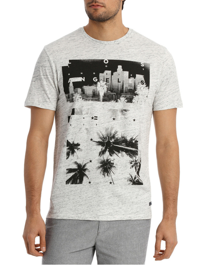 Jericho Placement Print Tee image 1