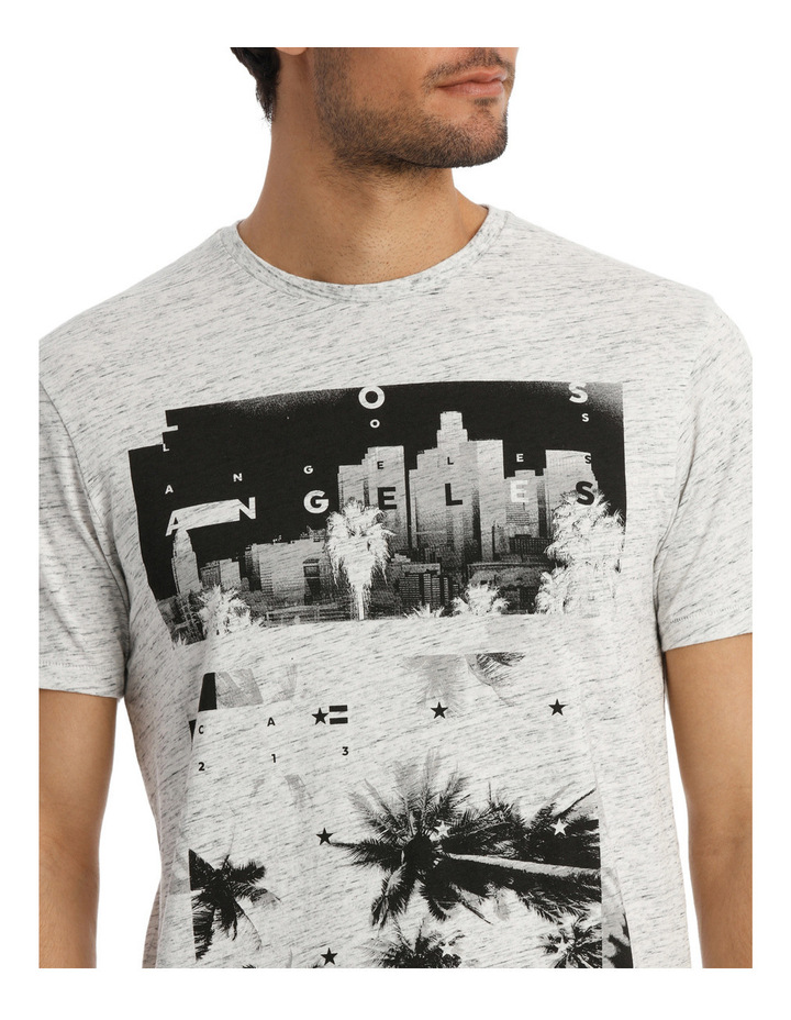 Jericho Placement Print Tee image 4