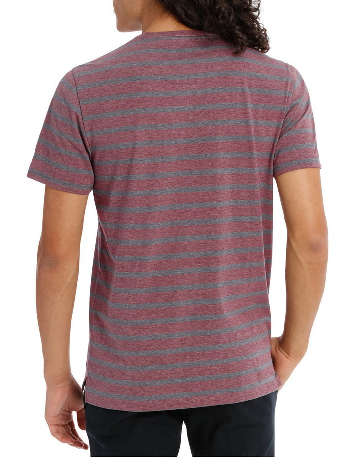 Red Sand Stripe Tee image 3