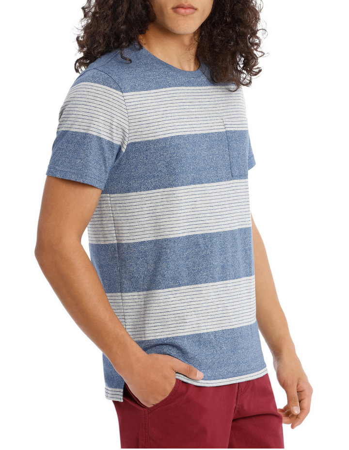 Blue Skies Short Sleeve Stripe Tee image 2