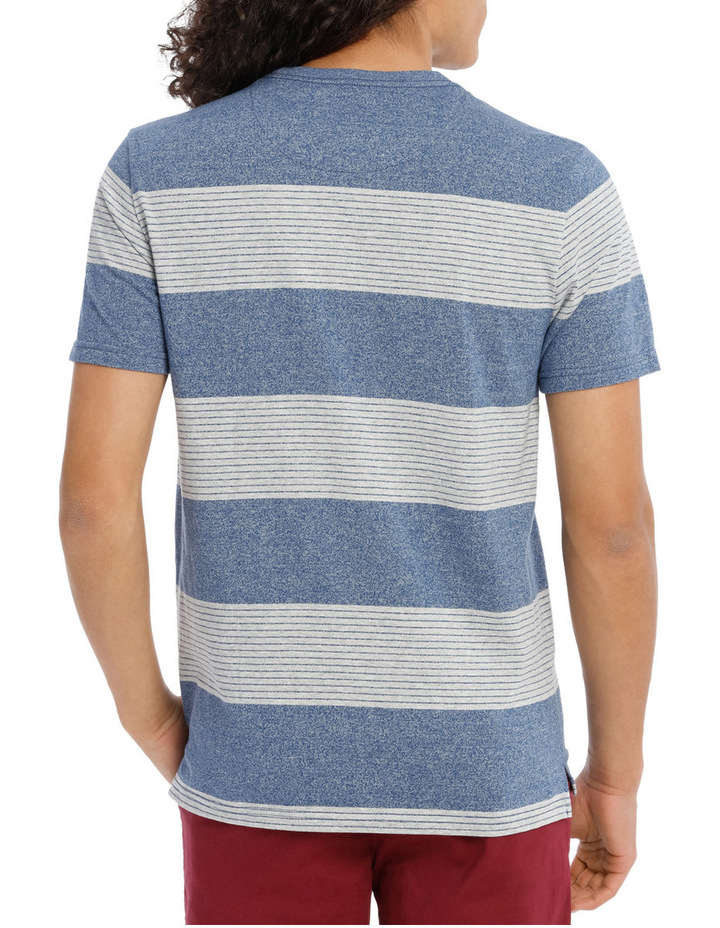 Blue Skies Short Sleeve Stripe Tee image 3