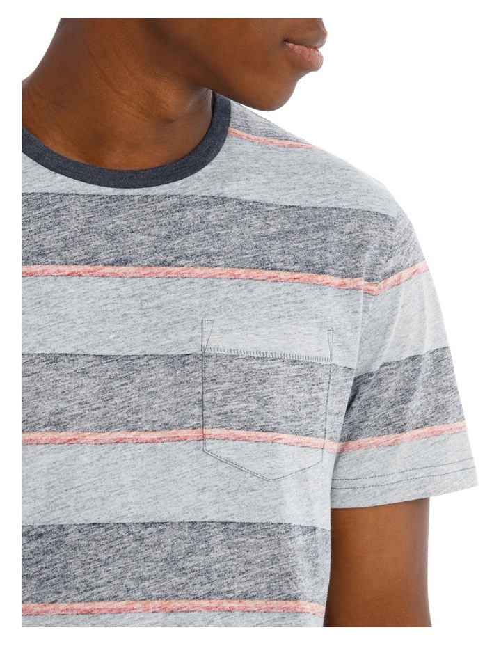 Torquay Reverse Stripe Tee image 4