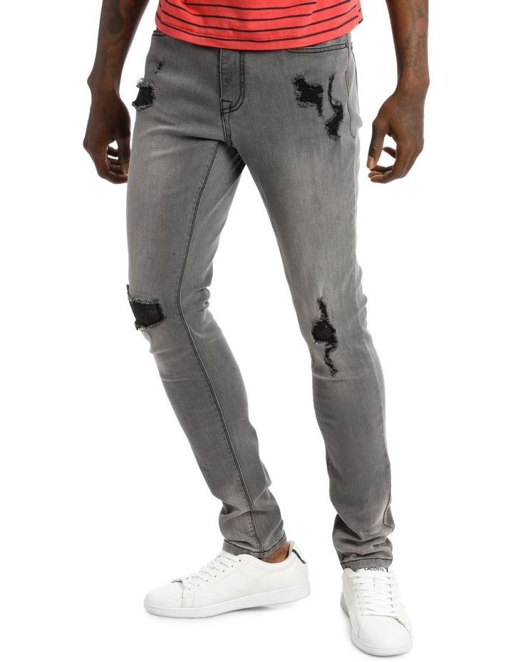 Cairo Ripped Jean image 2